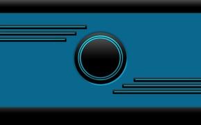Картинка blue, lines, neon, Frontier