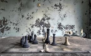 Обои шахматы, фигуры, игра