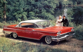 Обои mercury, park lane, hardtop, sedan, 1959, меркури, седан