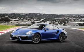 Обои ккупе, Coupe, порше, Porsche, 911, Turbo S, турбо