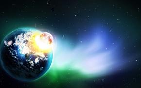 Картинка космос, вселенная, планета