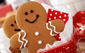 Картинка праздник, Рождество, сладости, Новый год, cookies