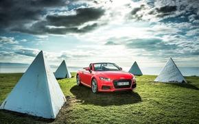 Обои 2015, Roadster, quattro, AU-spec, S line, TFSI, ауди, родстер, Audi