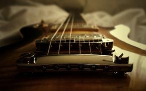 Картинка гитара, струны, крепления