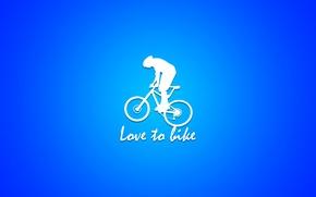 Картинка bicycle, bike, minimalism