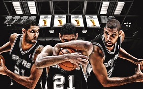 Картинка Мяч, Спорт, Баскетбол, NBA, San Antonio, Сан Антонио, Spurs, Тим Данкан, Спёрс, Tim Duncan