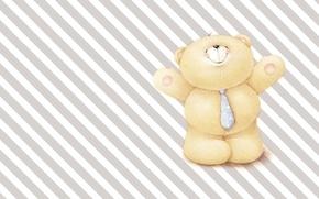 Картинка настроение, арт, мишка, галстук, папа, детская, деловой, Forever Friends Deckchair bear, на работу