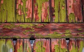 Картинка доски, забор, краска, текстура