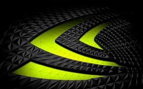 Картинка логотип, Nvidia, geforce