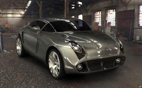 Картинка Concept, Maserati, Design, Front, Angle, 2009, 1920x1440, byAndrei, Kuba, Trofimtchouk