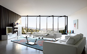 Картинка дизайн, дом, стиль, комната, вилла, интерьер