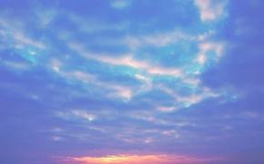 Картинка Закат, Солнце, Небо, Природа, Восход, Утро, Пейзаж, Волга, Энгельс, Фильтры, Разно, На фон