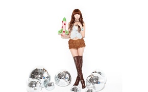 Картинка девушка, музыка, азиатка, Южная Корея, Kpop, Dal Shabet, Viki