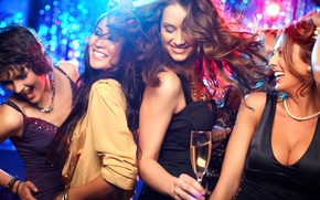 Обои dance, women, party
