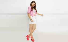 Картинка девушка, актриса, красавица, girl, sexy, legs, eyes, smile, beautiful, model, pretty, beauty, lips, face, hair, …