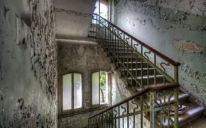 Картинка фон, интерьер, лестница