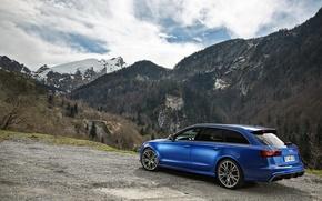 Обои ауди, RS 6, Audi, универсал, Avant