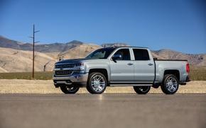 Картинка Chevrolet, внедорожник, Silverado