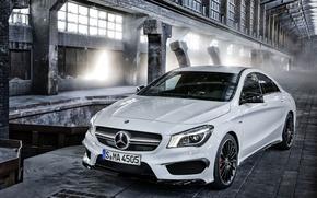 Картинка Mercedes-Benz, AMG, CLA45