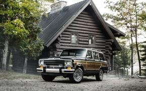 Картинка дом, джип, Jeep, 1987, гранд вагонер, Grand Wagoneer