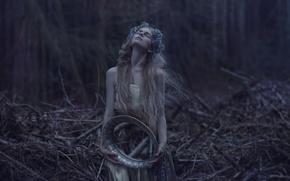 Картинка девушка, фантазия, арт, Agnieszka Lorek, The price of success, Magdalena Andruszkieiwcz