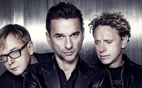 Картинка мужчины, музыканты, легендарная группа, депеш мод, эндрю флетчер, вестник моды, мартин гор, дэвид гаан, Depeche ...