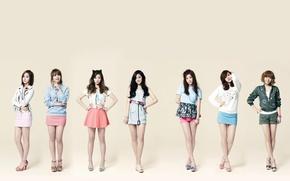 Картинка музыка, девушки, азиатки, Южная Корея, k-pop, A Pink