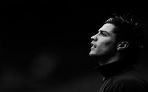 Картинка футбол, профиль, Cristiano Ronaldo