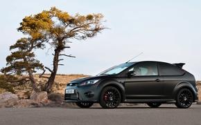 Картинка Ford, Focus, black matte, RS500