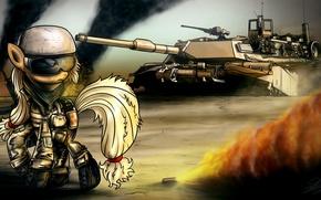 Картинка игра, арт, танк, пони, My Little Pony