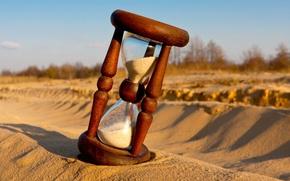 Картинка песок, деревья, фон, обои, настроения, тень, день, wallpaper, песочные часы, широкоформатные, background, полноэкранные, HD wallpapers, ...