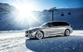 Картинка BMW, Winter, F30, X Drive, 330D
