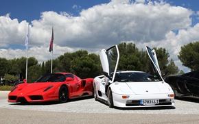 Картинка Enzo, Ferrari, Lamborghini