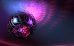 Картинка Music, Disco Ball, Обои На Рабочий Стол