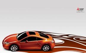 Обои авто, рисунок, скорость