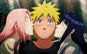 Картинка love, game, Naruto, Sakura, anime, kiss, ninja, asian, manga, Uzumaki, shinobi, Haruno, japanese, Haruno Sakura, …