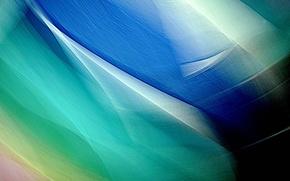 Картинка объем, цвет, лучи, свет, линии