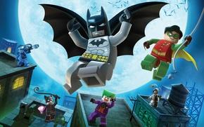 Обои Лего, Герои, Бэтмэн
