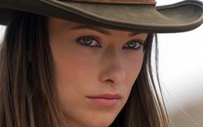 Картинка Оливия Уайлд, Olivia Wilde, Cowboys & Aliens, Ковбои против пришельцев