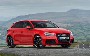 Обои 2015, UK-spec, Sportback, ауди, Audi, RS 3