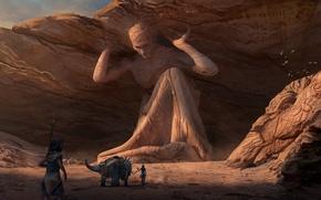 Картинка дорога, фантастика, арт, fantasy, Sanctuary, Chris Tulloch McCabe