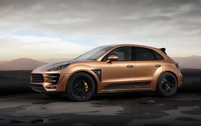 Картинка car, Porsche, tuning, TopCar, Macan, Aurum, URSA