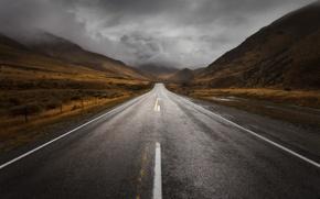 Картинка шторм, Новая Зеландия, storm, New Zealand, South Island, Южный остров, Южные Альпы, регион Кентербери, Canterbury …