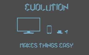 Картинка простота, ipod, iphone, эволюция