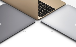 Картинка Retina, The new MacBook, Pure invention, Force Touch, new design