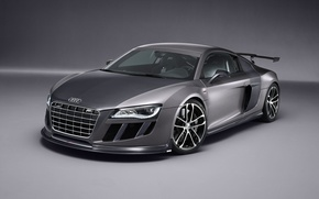 Картинка серый, Audi, ABT GT R