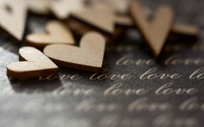 Обои макро, настроение, сердце
