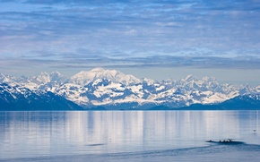 Картинка USA, Park, Glacier, National, Bay, Alasaka