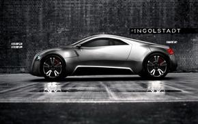 Обои Concept, Ingolstadt, Audi, черный