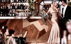 Картинка бар, журнал, фотосессия, Vogue, Scarlett-Johansson